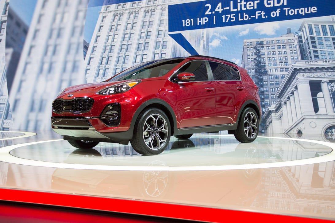 New 2020 Kia Sportage LX FWD Sport Utility