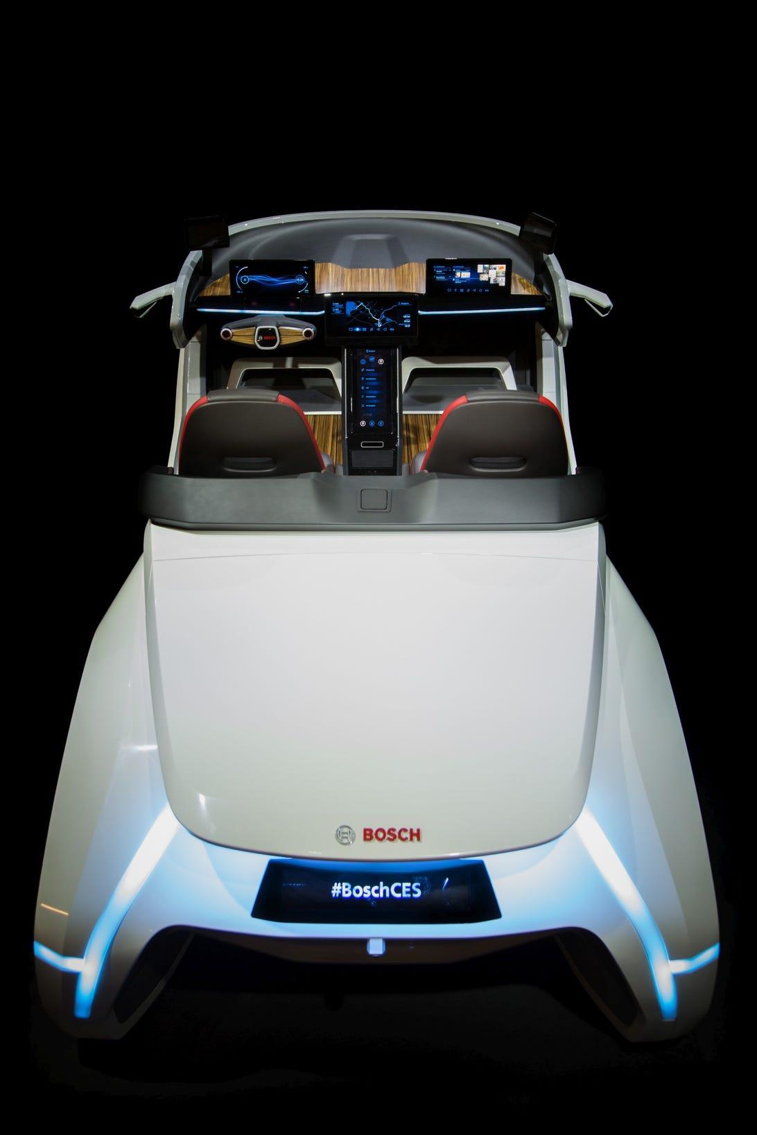 Bosch CES 2017 Concept Car
