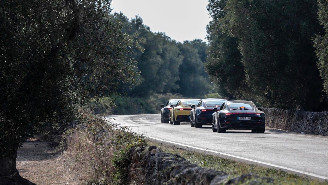 2020 Porsche 911 Teasers