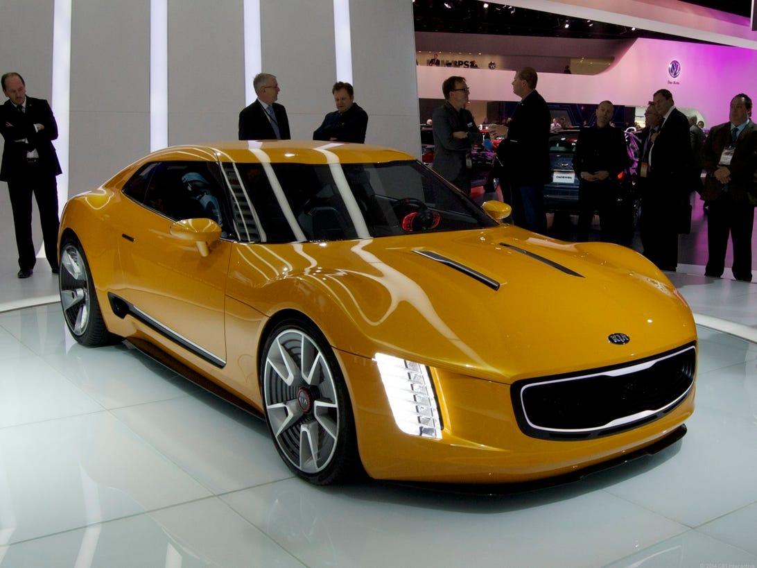 Kia Stinger GT4 concept