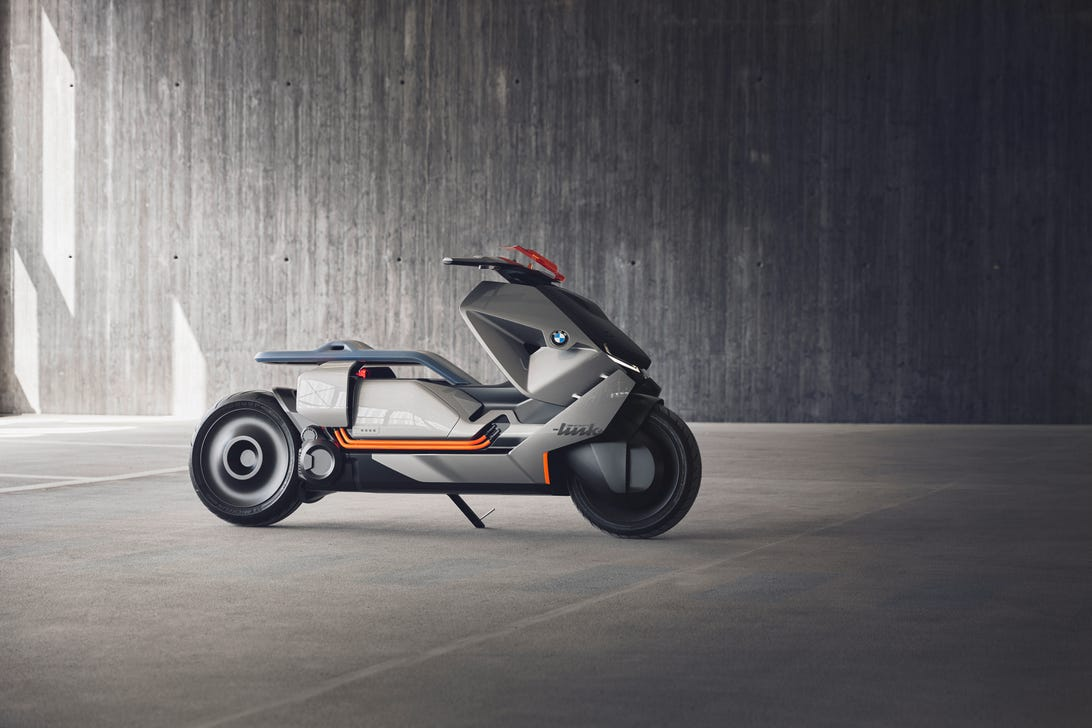 BMW Motorrad Concept Link electric scooter