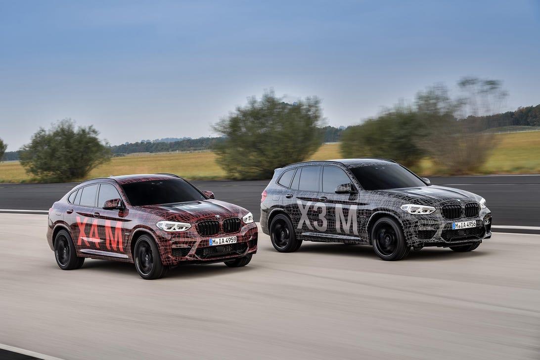BMW X3M X4M Prototypes