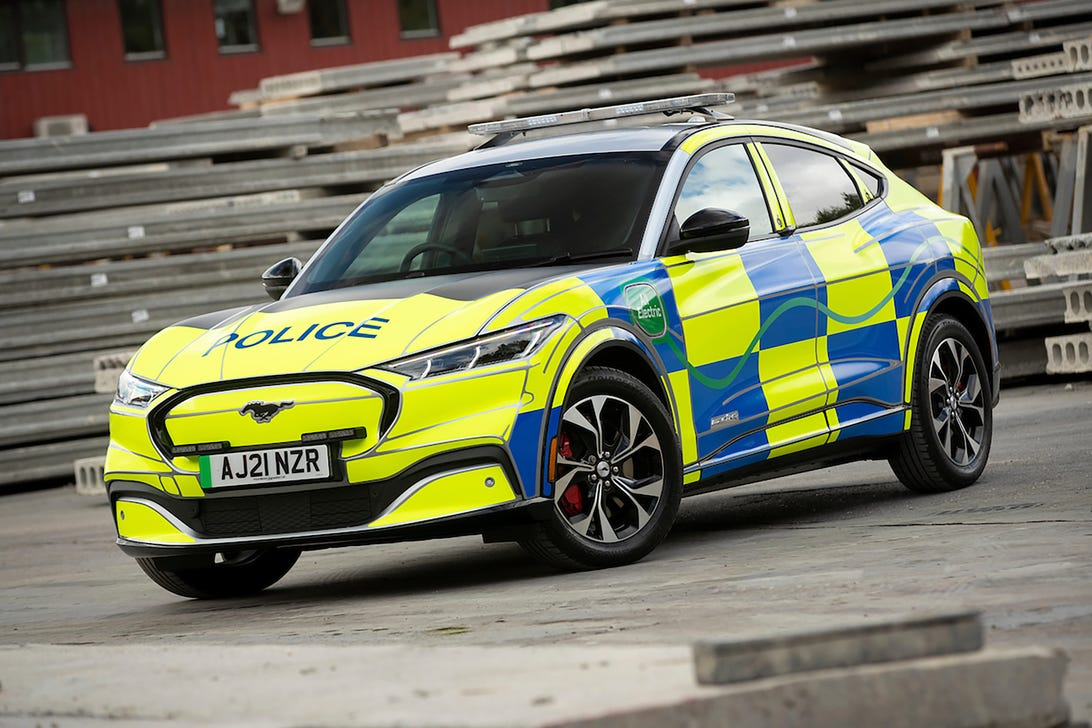 Ford Mustang Mach-E UK Police Car Concept