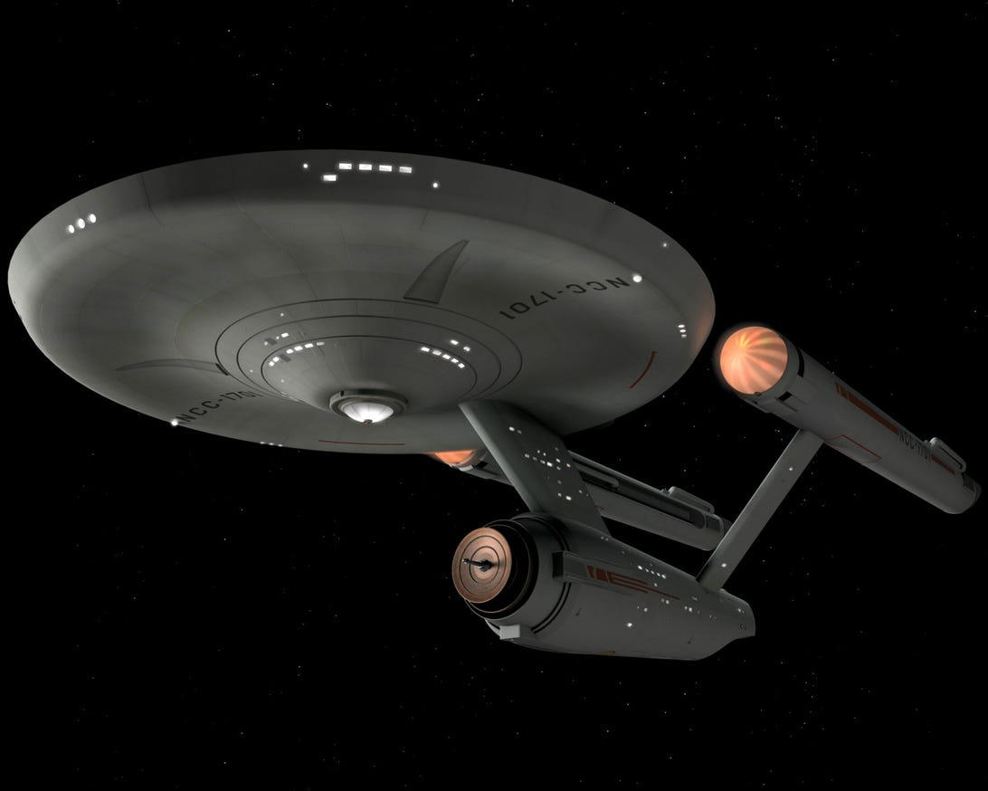 Star Trek' spaceships through the years (pictures) - CNET