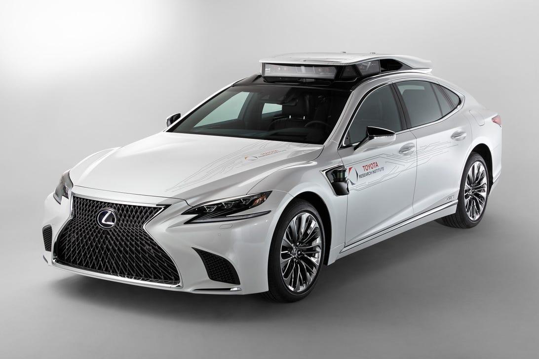 Lexus LS 500h autonomous research car