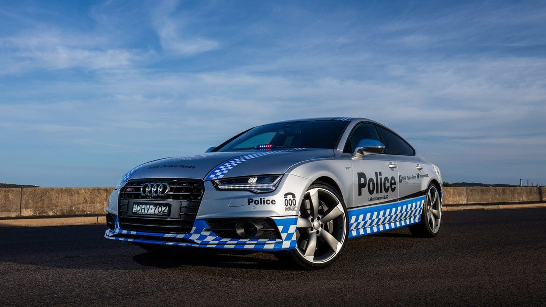 Audi S7 New South Wales Police