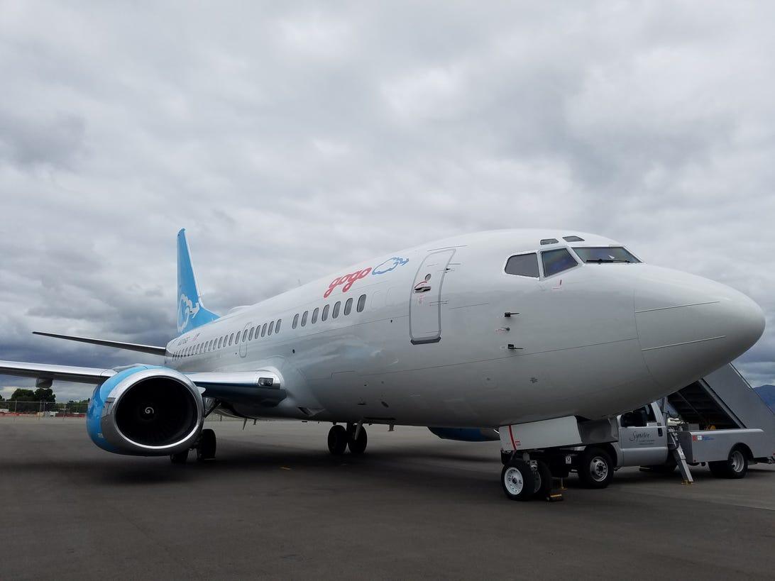 gogo 2ku airplane wifi