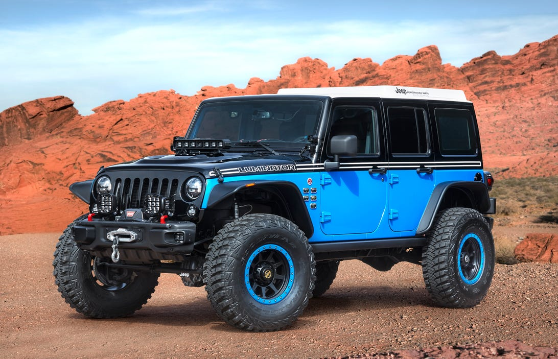 Jeep Wrangler Luminator Concept