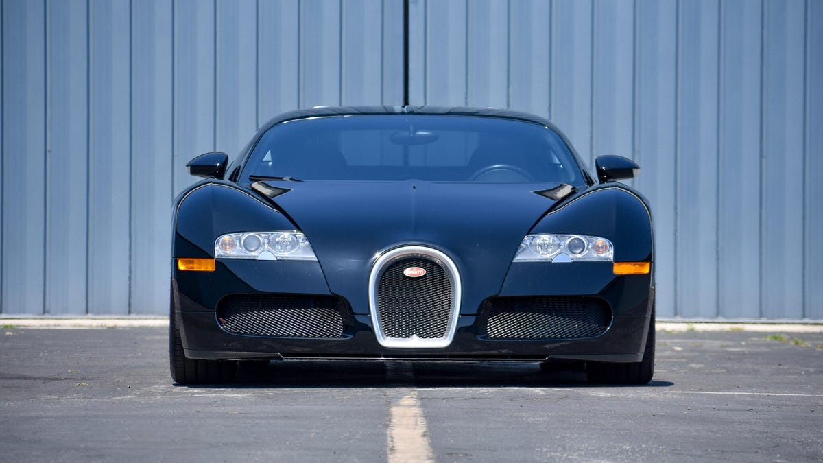 This Bugatti Veyron Could Make Big Money From Bring a Trailer – Roadshow