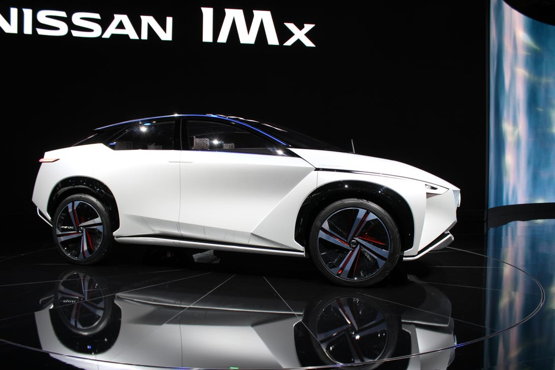 Nissan IMx Concept at the Tokyo Motor Show