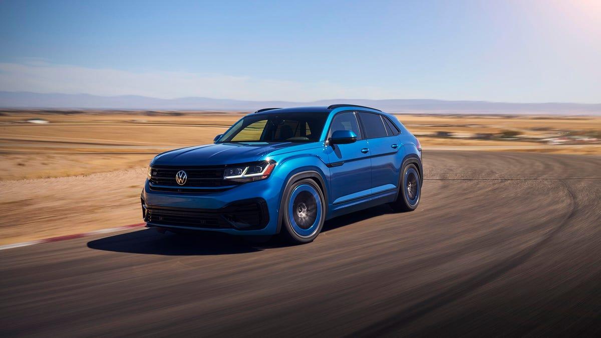 VW Atlas Cross Sport GT Concept has a tuner edge – Roadshow