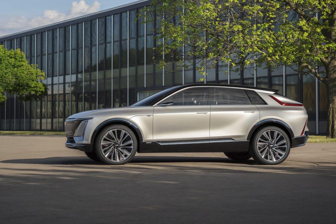 Cadillac Lyriq Concept Car