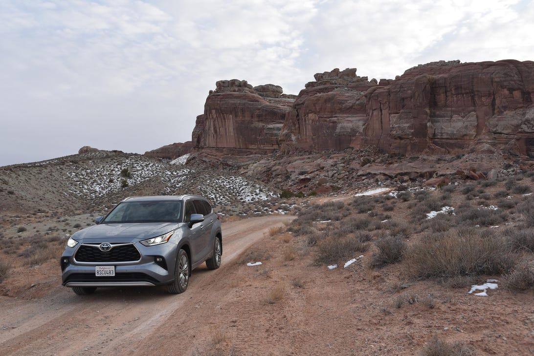 2020 Toyota Highlander hybrid Moab