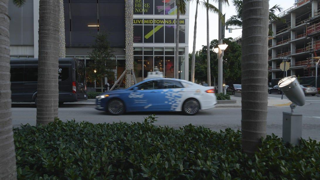 Ford Autonomous Car Miami