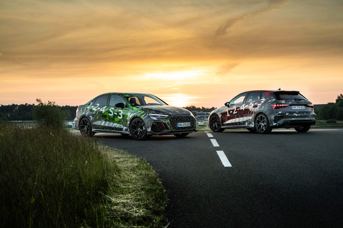 2022 Audi RS 3 Teaser
