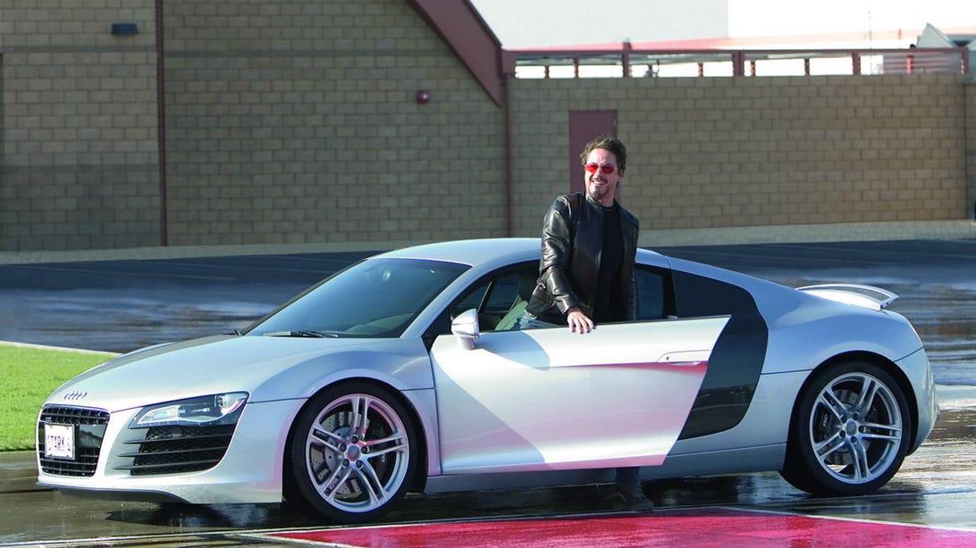 Audi R8 - Iron Man (2008)