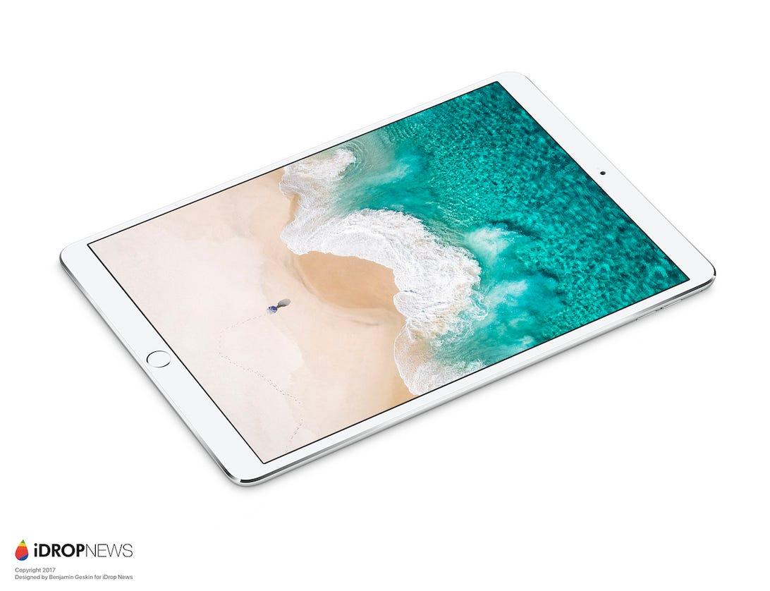 Benjamin Geskin's 2017 iPad Pro render