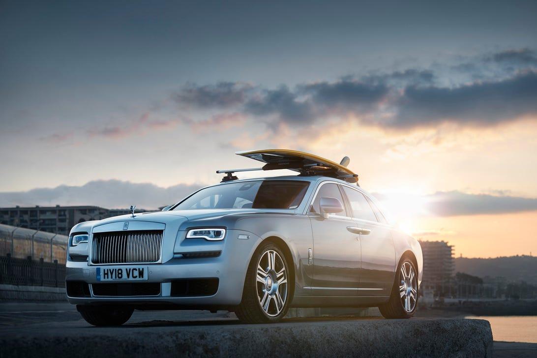 Rolls-Royce Ghost Surfboard