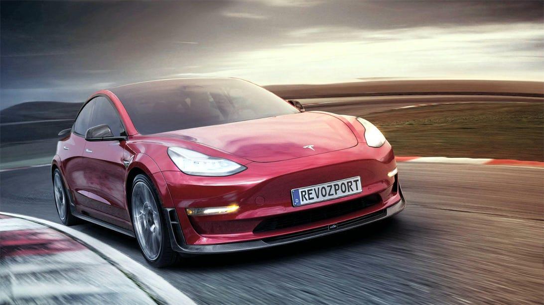 Tesla Model 3 RevoZport 3R body kit