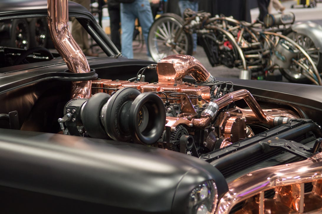 Superchargers and Turbochargers of SEMA