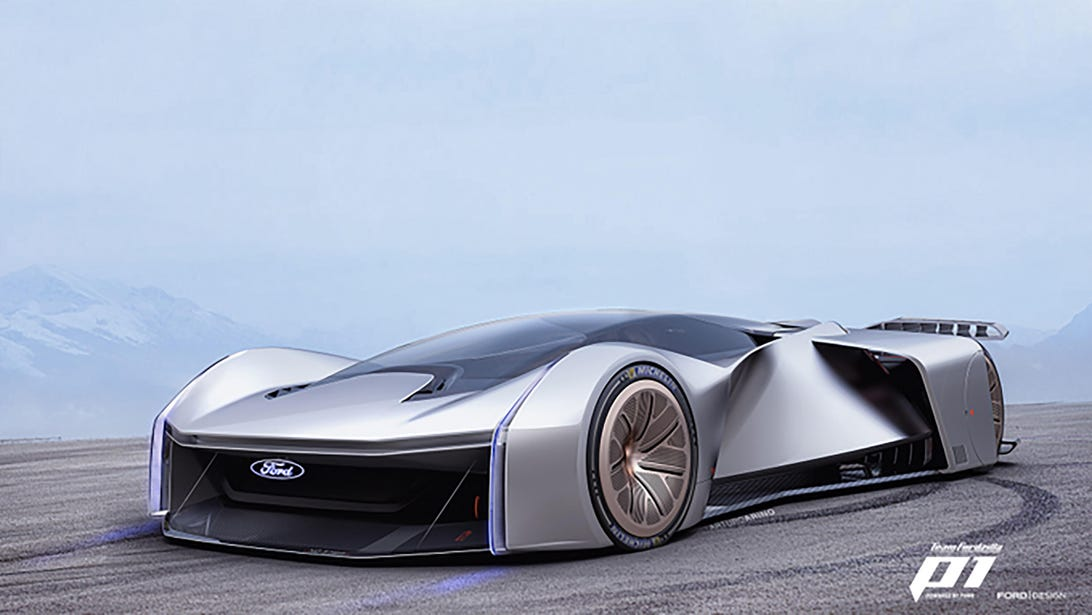 Fordzilla P1 Concept race car