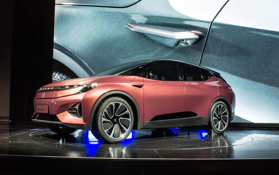 Byton CES concept car
