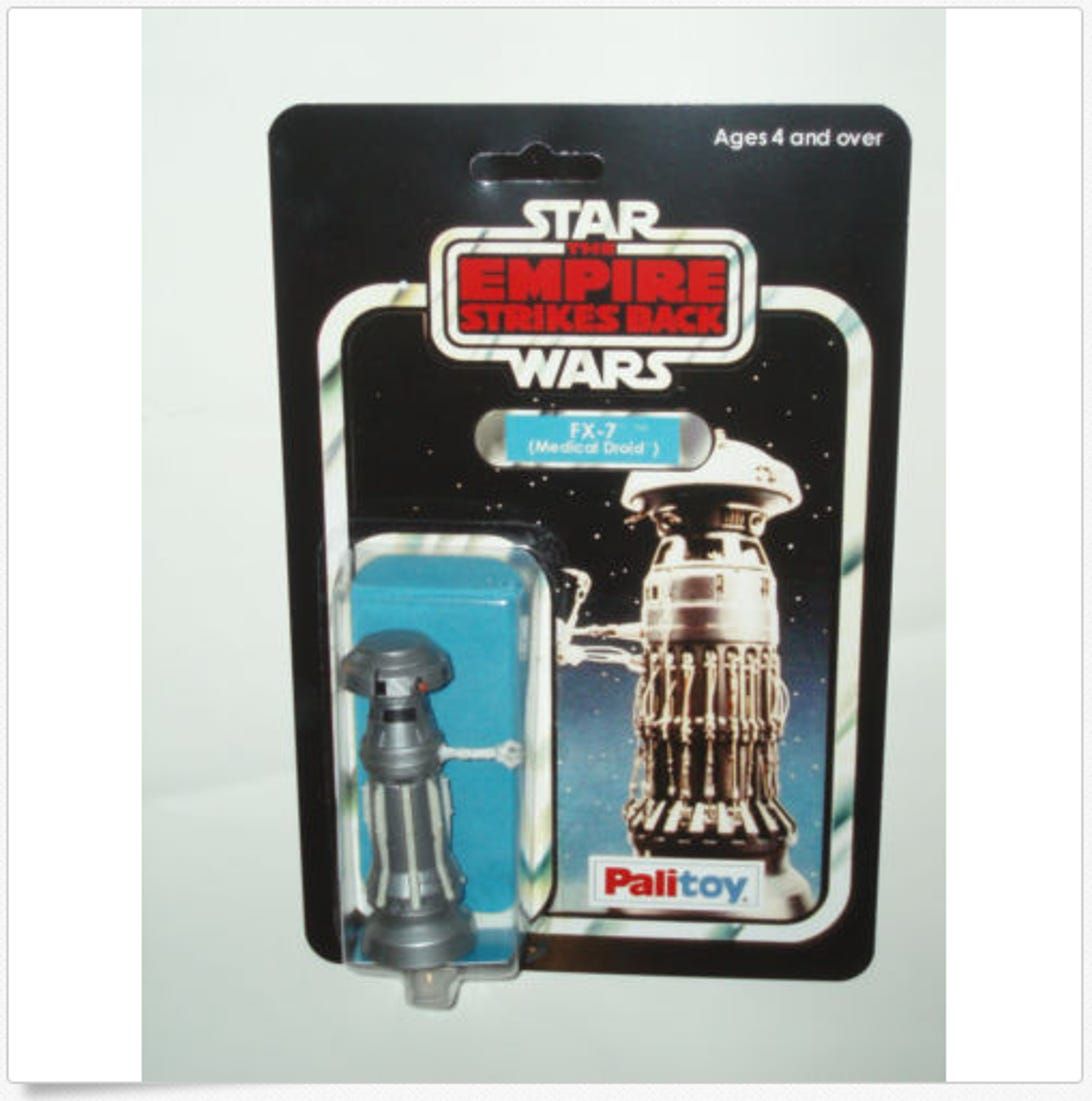Medical Droid FX-7 by Palitoy