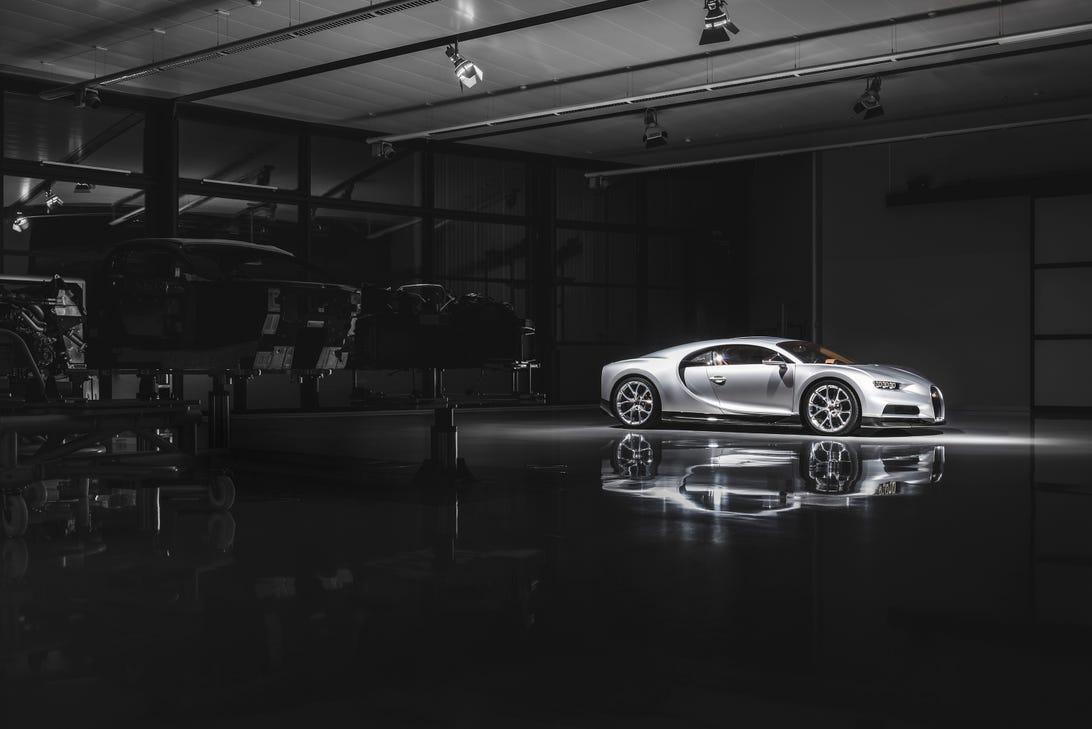 Bugatti Chiron Assembly
