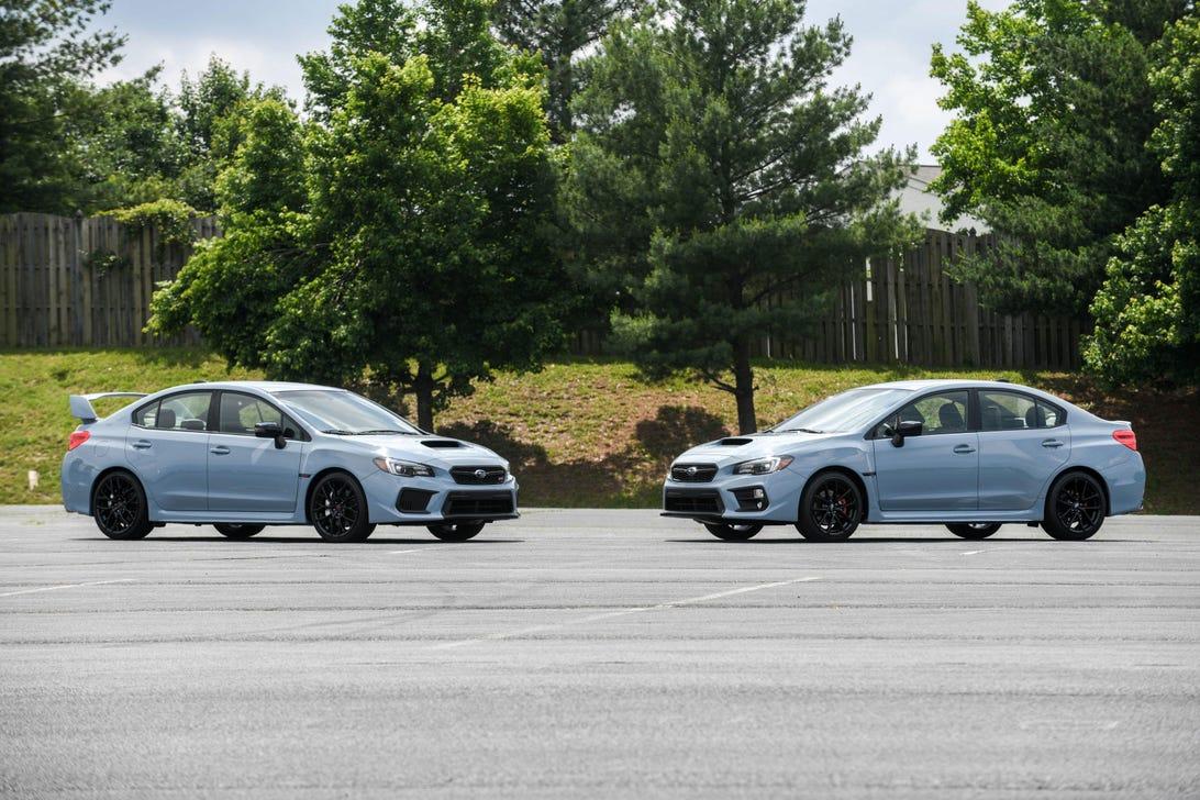 2019 Subaru WRX and WRX STI Series.Gray