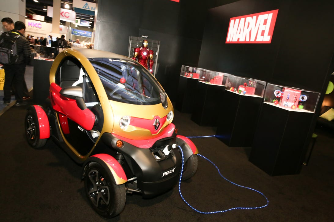 Iron Man Renault Twizy CES 2017