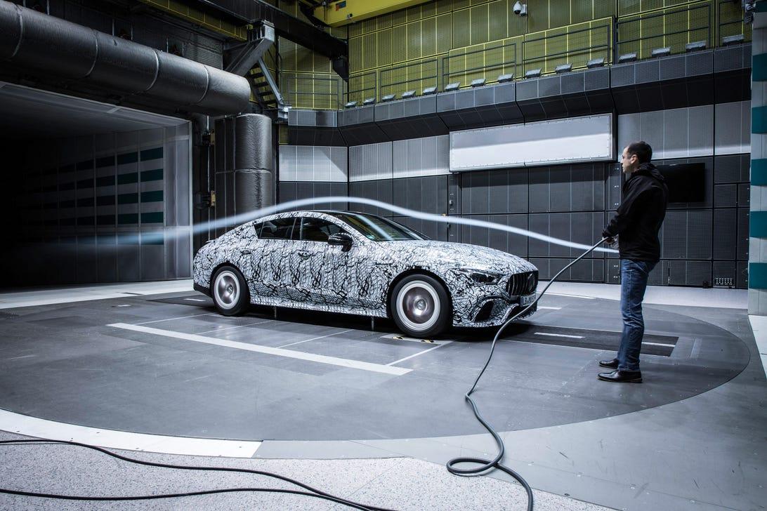 Mercedes-AMG GT Sedan Wind Tunnel