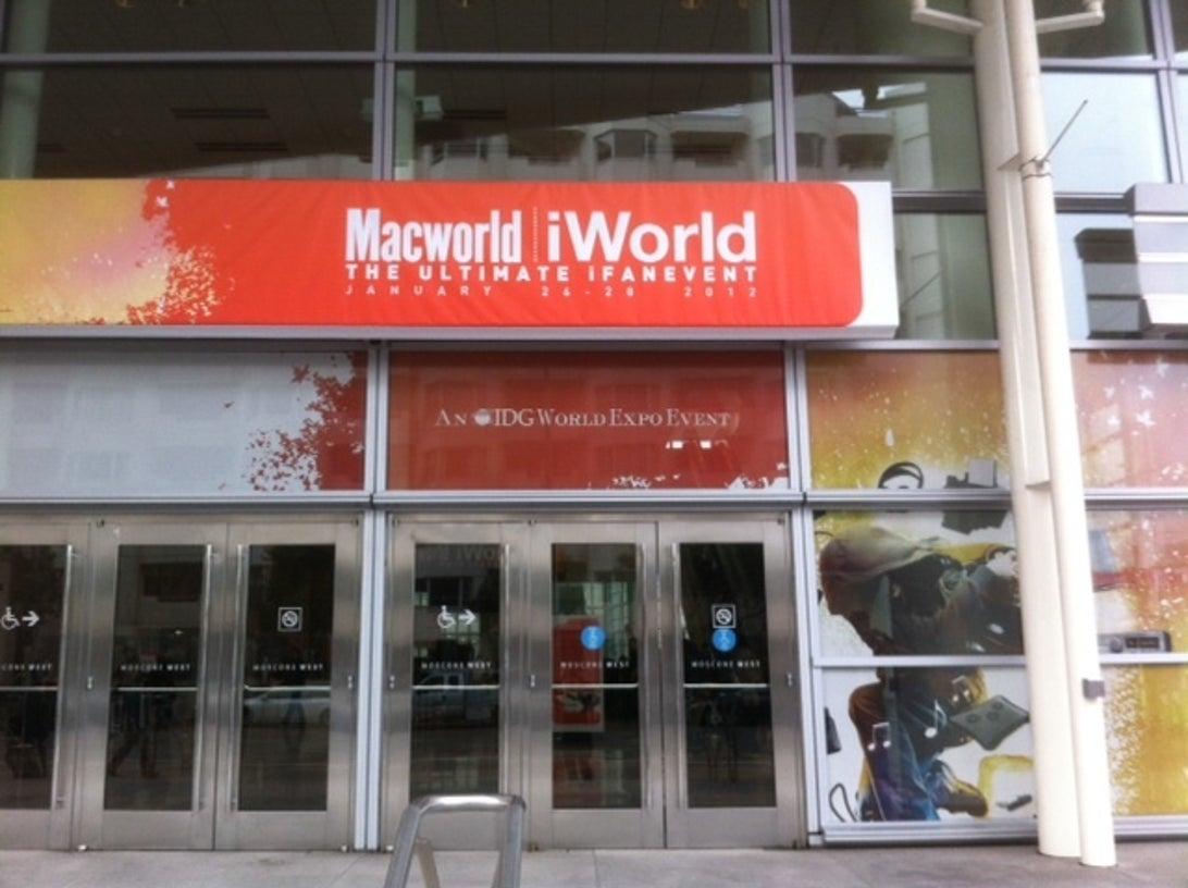 MacworldEntranceOutside_DD_01262012_1.JPG