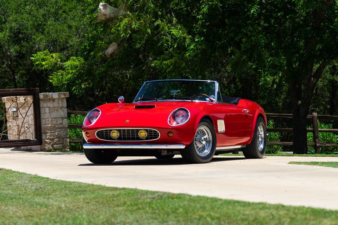 Ferris Bueller's Day Off Ferrari 250 GT California replica - Modena Spyder