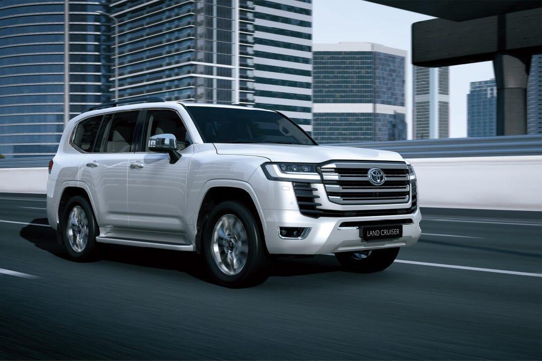 New Toyota Land Cruiser J300 series