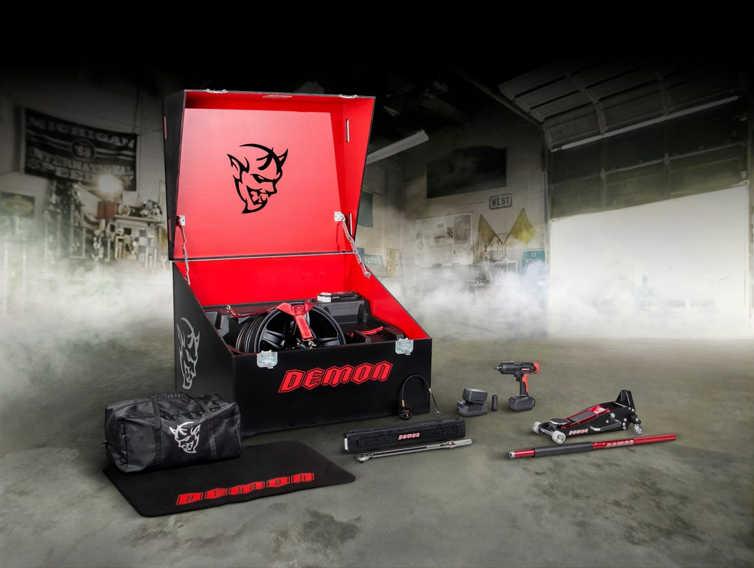 Dodge SRT Demon Crate Tools