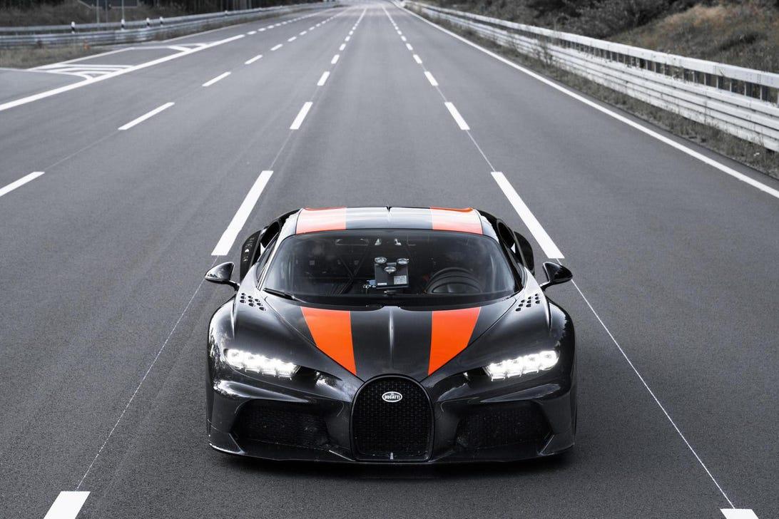 Bugatti Chiron Top Speed Record