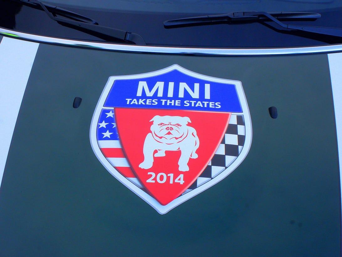 Mini Takes the States 2014 rally