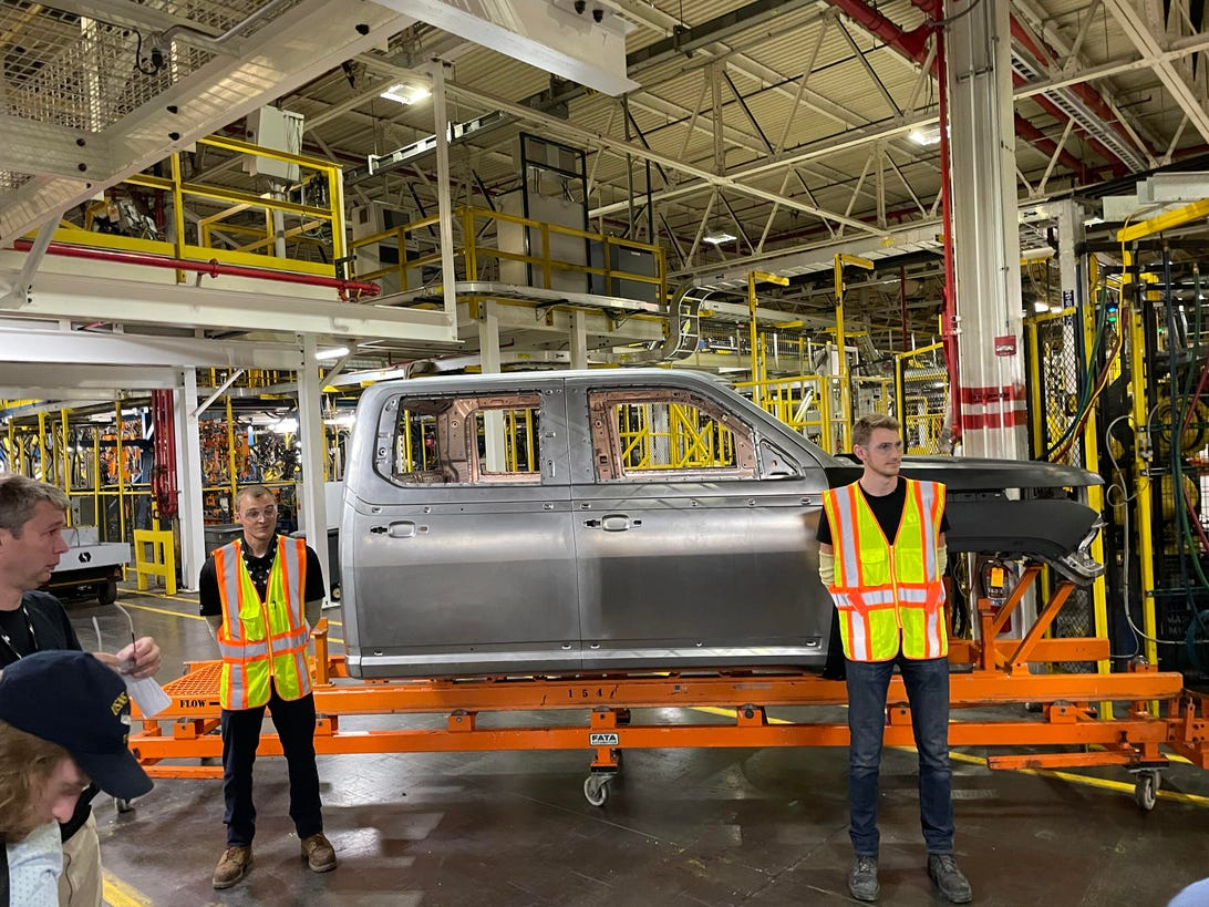 Lordstown Motors plant