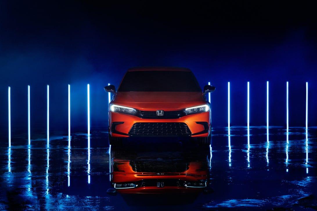 2022 Honda Civic Sedan Prototype