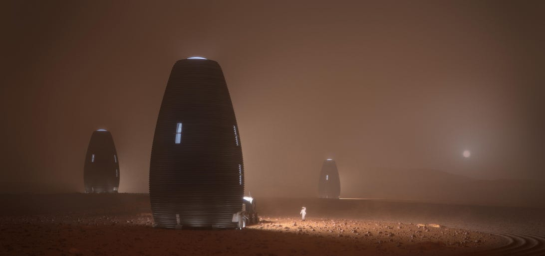 AI SpaceFactory's vision for the future of Martian habitation may be a long way off, but the company hopes that one day life on Mars will be within reach of humans on Earth.