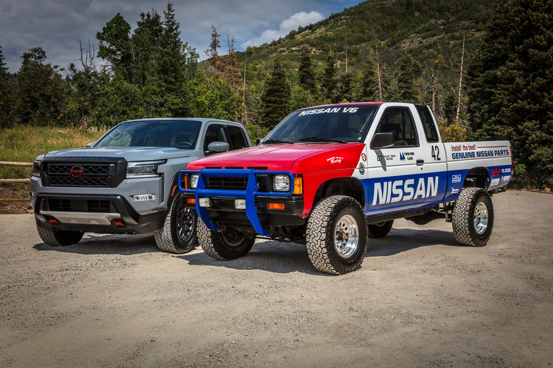 2022 Nissan Frontier Rebelle Rally