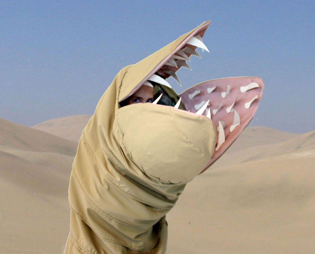 Dune sandworm costume