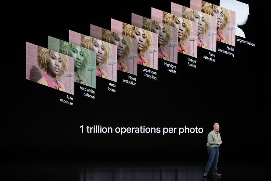 Apple iPhone XS announcements: camera