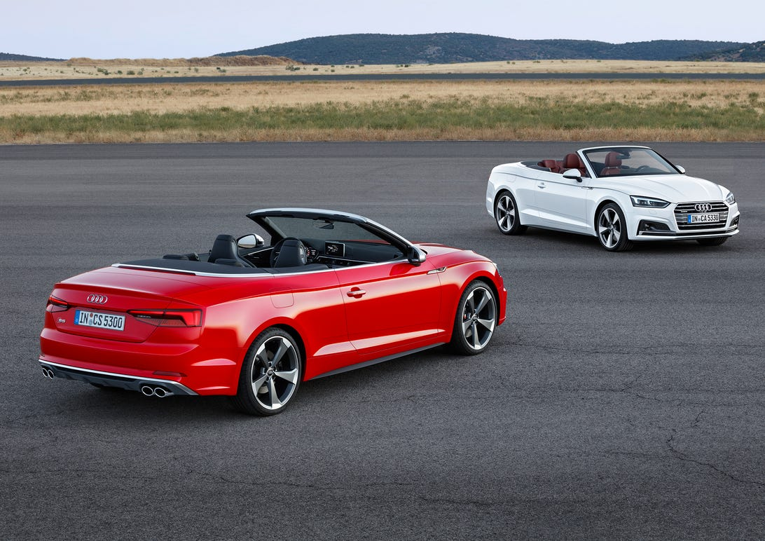2018 Audi A5 and S5 Cabriolet