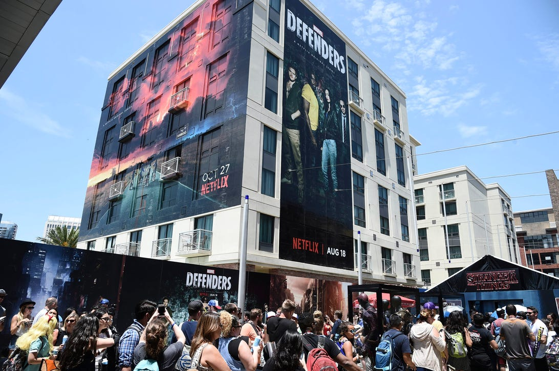Netflix's activation at 2017 Comic-Con, San Diego, CA, USA - 20 July 2017