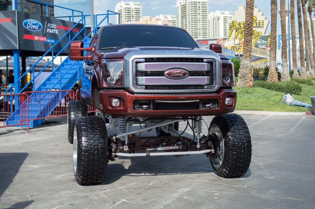 The Lifted Trucks and SUVs of SEMA