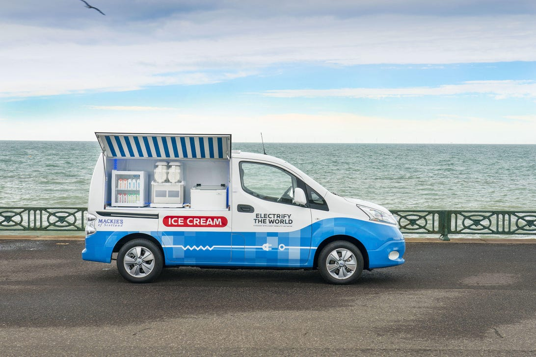 Nissan Zero Emissions Ice Cream Truck