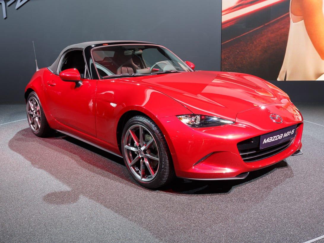 Mazda MX-5 at Paris Motor Show