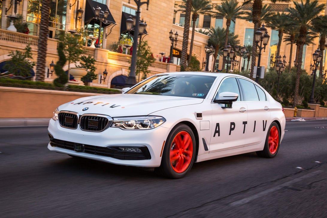 Aptiv Lyft CES Self-Driving Car