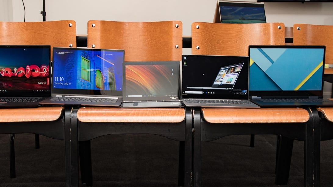 Lenovo Yoga C930, S730, C630 WOS and Chromebooks